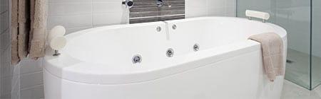 bad laten plaatsen door installateur