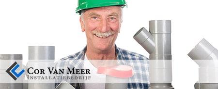 Cor van Meer toilet ontstoppen