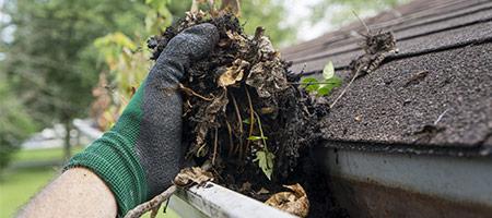 dakgoten schoonmaken in Prinsenbeek