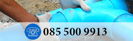 aanleggen van riolering in Hillegom